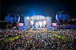 Crowd at Summer Festival, Seoul, South Korea    Stock Photo - Premium Rights-Managed, Artist: R. Ian Lloyd, Code: 700-02289705