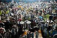 Crowd in Rain at Summer Festival, Seoul, South Korea    Stock Photo - Premium Rights-Managednull, Code: 700-02289706