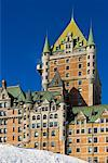 Chateau Frontenac, Quebec, City, Quebec, Canada    Stock Photo - Premium Rights-Managed, Artist: Alberto Biscaro, Code: 700-02289759