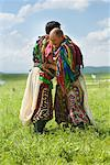Men in Traditional Costumes Wrestling, Inner Mongolia, China    Stock Photo - Premium Rights-Managed, Artist: dk & dennie cody, Code: 700-02289814