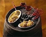 tapas    Stock Photo - Premium Rights-Managed, Artist: Photocuisine, Code: 825-02302478