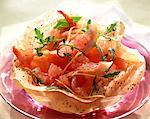 grapefruit, smoked salmon and prawn salad    Stock Photo - Premium Rights-Managed, Artist: Photocuisine, Code: 825-02302818