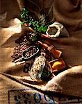 rice, coffee, herbs and spices    Stock Photo - Premium Rights-Managed, Artist: Photocuisine, Code: 825-02303815