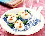 egg mayonnaise    Stock Photo - Premium Rights-Managed, Artist: Photocuisine, Code: 825-02303989