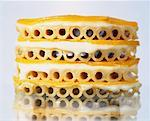 Macaronis and cheese layers    Stock Photo - Premium Rights-Managed, Artist: Photocuisine, Code: 825-02304861
