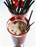 Cola and straws    Stock Photo - Premium Rights-Managed, Artist: Photocuisine, Code: 825-02304864