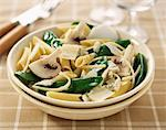 four cheeses and vegetable penne    Stock Photo - Premium Rights-Managed, Artist: Photocuisine, Code: 825-02305827