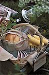picnic basket    Stock Photo - Premium Rights-Managed, Artist: Photocuisine, Code: 825-02308053