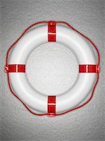 Plastic life preserver Stock Photo - Premium Royalty-Freenull, Code: 635-02313126
