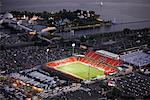 Aerial View of BMO Field, Toronto, Ontario, Canada    Stock Photo - Premium Rights-Managed, Artist: Brian Pieters, Code: 700-02314971