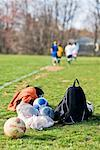 People at Soccer Practice, Bethesda, Montgomery County, Maryland, USA    Stock Photo - Premium Rights-Managed, Artist: Patrick Chatelain, Code: 700-02315001