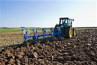 plow - Tractor Tilling the Soil    Stock Photo - Premium Rights-Managednull, Code: 700-02315079