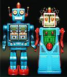 Robot Couple    Stock Photo - Premium Rights-Managed, Artist: Andrew Kolb, Code: 700-02316025