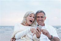 Couple with Digital Camera    Stock Photo - Premium Royalty-Freenull, Code: 600-02346339