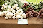 Spanish Onions and Beets on Table at Market    Stock Photo - Premium Rights-Managed, Artist: Peter Reali, Code: 700-02347763