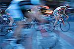 Bicycle Race in Vancouver, British Columbia, Canada    Stock Photo - Premium Rights-Managed, Artist: Ron Fehling, Code: 700-02347828