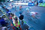 Bicycle Race in Vancouver, British Columbia, Canada    Stock Photo - Premium Rights-Managed, Artist: Ron Fehling, Code: 700-02347829