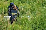 Police Officers with Woman's Body in Field, Toronto, Ontario, Canada    Stock Photo - Premium Rights-Managed, Artist: Blue Images Online, Code: 700-02348203