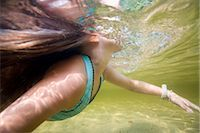 Little Girl Swimming in Long Lake Naples, Maine, USA    Stock Photo - Premium Rights-Managednull, Code: 700-02348571