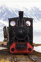steam engine - Steam Engine, Ny Alesund, Spitsbergen, Norway    Stock Photo - Premium Rights-Managednull, Code: 700-02371094