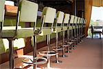 Row of Bar Stools, Gromitz, Schleswig-Holstein, Germany    Stock Photo - Premium Rights-Managed, Artist: photo division, Code: 700-02371471