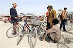China, Xinjiang, Keriya, market