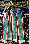 China, Guizhou, Taojiang village, Miao traditional costume