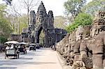 Cambodia, Angkor Thom, the bayon. Stock Photo - Premium Royalty-Freenull, Code: 610-02374579