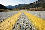 Close-up View of Road near Keremeos, Okanagan, British Columbia, Canada    Stock Photo - Premium Royalty-Free, Artist: Ron Fehling, Code: 600-02376760