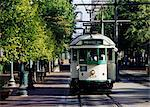 Trolley Car, Memphis, Tennessee, USA