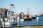 Menemsha Harbor, Chilmark, Martha's Vineyard, Massachusetts, USA    Stock Photo - Premium Rights-Managed, Artist: SimplyMui, Code: 700-02378025