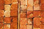Close-up of a stack of timbers    Stock Photo - Premium Rights-Managed, Artist: Glowimages, Code: 837-02378133