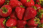 Close-up of a heap of strawberries    Stock Photo - Premium Rights-Managed, Artist: Glowimages, Code: 837-02379906