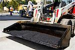 Tractor at a road construction site, Biscayne Boulevard, Miami, Florida    Stock Photo - Premium Rights-Managed, Artist: Glowimages, Code: 837-02382000