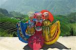 Women Wearing Indigenous Costume, Ping An Village, Longsheng, China