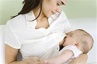 pregnant breast - Mother breastfeeding baby, close-up Stock Photo - Premium Royalty-Freenull, Code: 632-02416246