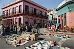 Street Market in Montevideo, Uruguay    Stock Photo - Premium Rights-Managed, Artist: Pierre Arsenault, Code: 700-02418128