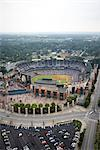 Aerial View of Turner Field, Atlanta, Georgia, USA