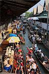Floating Market, Bangkok, Thailand    Stock Photo - Premium Rights-Managed, Artist: Siephoto, Code: 700-02428526
