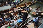 Floating Market, Bangkok, Thailand    Stock Photo - Premium Rights-Managed, Artist: Siephoto, Code: 700-02428537