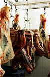 Meat Hanging in Butcher Shop Stock Photo - Premium Royalty-Free, Artist: John Cullen, Code: 600-02429179