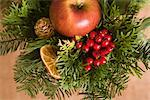 Christmas Evergreen Arrangement    Stock Photo - Premium Rights-Managed, Artist: Klick, Code: 700-02461238
