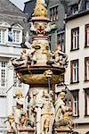 St Peter Fountain, Trier, Rhineland-Palatinate, Germany    Stock Photo - Premium Rights-Managed, Artist: F. Lukasseck, Code: 700-02461380