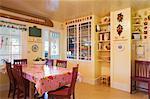Interior of Rental Cottage in Seaside, Oregon, USA