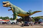 World's Largest Dinosaur, Drumheller, Alberta, Canada    Stock Photo - Premium Rights-Managed, Artist: Moritz Schnberg, Code: 700-02519069