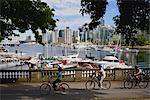 Stanley Park, Coal Harbour, Vancouver, British Columbia, Canada    Stock Photo - Premium Rights-Managed, Artist: Moritz Schönberg, Code: 700-02519103