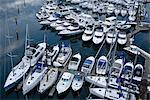 Boats at Marina, False Creek, Vancouver, British Columbia, Canada    Stock Photo - Premium Rights-Managed, Artist: Moritz Schönberg, Code: 700-02519111