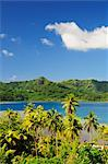 Overview of Bay, Huahine, French Polynesia    Stock Photo - Premium Royalty-Free, Artist: Jochen Schlenker, Code: 600-02590610