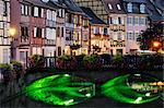 Petit Venice, Old Town of Colmar, Haut-Rhin, Alsace, France    Stock Photo - Premium Rights-Managed, Artist: Jochen Schlenker, Code: 700-02590720