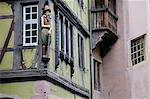Close-up of House in the Old Town of Colmar, Haut-Rhin, Alsace, France    Stock Photo - Premium Royalty-Free, Artist: Jochen Schlenker, Code: 600-02590840
